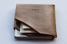 Tailor Your Own Wingback Leather Slim Wallet - Best Slim Wallet
