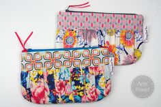 Ruched Happy Bags in Floressence by Art Gallery Fabrics- made During Quiet Time