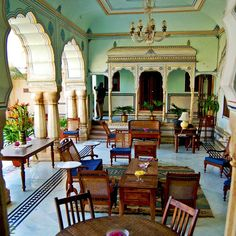 Samode Haveli, Jaipur, India — by Intrepidor. The Samode Haveli stood out among the many hotels in Jaipur. An ancestral home and heritage hotel, it's rife with...