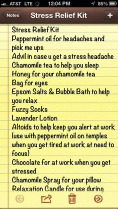 Top 5 Most Refreshing Ideas to Prevent Stress from Controlling You Stress relief kit