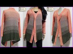 Videos, Youtube, Sweaters, Fashion, Hand Crafts, Knit Patterns, Breien, Moda, Fashion Styles