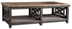 Spiro Reclaimed Wood Cocktail Table from southern|ELEVATION
