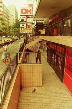 Hillbrow in years gone by. I seem to remember a pancake bar downstairs.