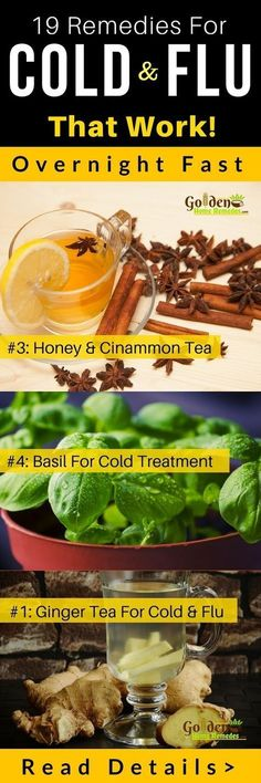 Cold and Flu, How To Get Rid Of Cold: 19 Home Remedies For Cold That Really Work, Common Cold Treatment At Home, Cold: Causes, Symptoms and Treatments. Cold is an uncomfortable problem faced by many of us at least once in our life time. In most of the cas Cold And Cough Remedies, Cold Home Remedies, Natural Health Remedies, Natural Cures, Natural Healing, Herbal Remedies, Quick Cold Remedies, Home Remedies For Sickness, Head Cold Remedies