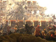 The Siege of Constantinople, 1453 Medieval World, Medieval Fantasy, Ancient Rome, Ancient History, Siege Of Constantinople, Istanbul, Turkey History, Warrior Paint, Ottoman Turks