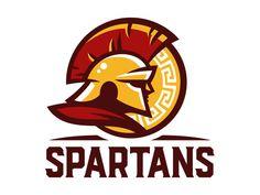 Spartans Logo Design