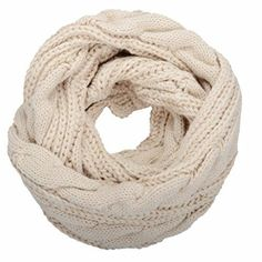 A bulky infinity scarf crocheted in a soft wool is oh so much cozier than a normal scarf, wouldn't you say?