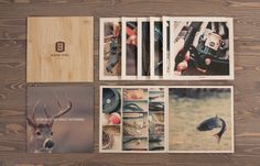 Bass Pro Shop by Fred Carriedo, via Behance:  - Love the photography and rustic/outdoor feel. The logotype is a good fit for the subject and would fit well with my target audience.