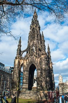 Scott Monument,Edinburgh - Scotland