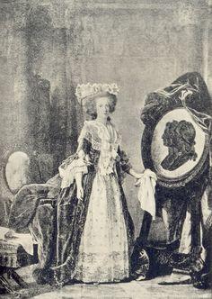 Adelaide de Bourbon (1732 – 1800)  Eldest daughter of Louis XV, King of France