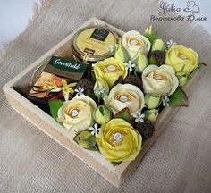 Букеты из конфет Санкт-Петербург.