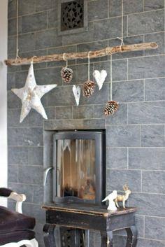 Weihnachtssterne selber basteln vorlagen kinder hängend