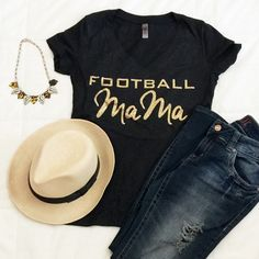 Are you ready for Football Sunday's ?  Kid's Football Games ?  Our NEW 'Football Mama' V Neck Tees are in the shop ready for you to tackle  See the entire collection of TShirts and Sweatshirts.  Free Shipping.