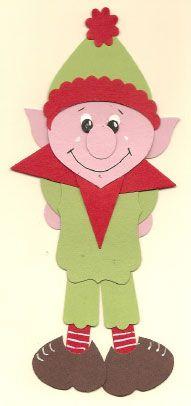 Elf   http://www.pennyscreativecorner.com/punch-art/page/2/
