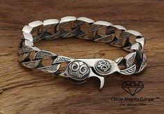 Etui Fine Craftsmanship Armband Bälle Silber Und Kreuz Alle Silber Sterling