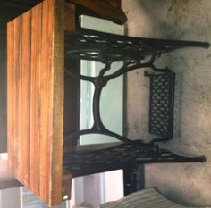 Table Made with Treadle