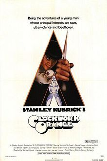 """""""A Clockwork Orange"""" Movie Poster by Bill Gold (Stanley Kubrick / Old Posters, Iconic Movie Posters, Cinema Posters, Iconic Movies, Vintage Posters, Cinema Cinema, Famous Movies, Stanley Kubrick, Clockwork Orange Poster"""