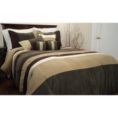 Metric Micro Chenille 7-piece Comforter Set