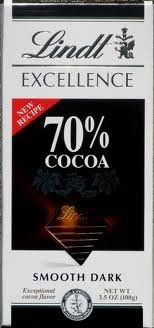 Lindt Excellence Bar Dark Chocolate 70 Cocoa  Pack of 4 * Check out the image by visiting the link.