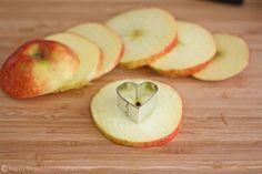 Apple hearts