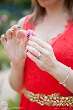 Diamond Engagement Ring, Engagement Photos; Sweetheart Empire » Couples Photography