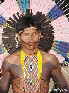 Atualmente, calcula-se que apenas 400 mil índios ocupam o território brasileiro, principalmente em reservas indígena...
