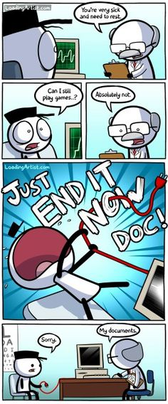 Loading Artist » Just End It Now Doc!