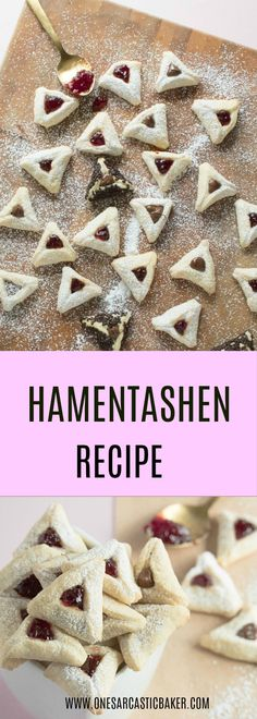 Delicious, melt in the mouth traditional hamentashen cookie recipe. An easy one bowl recipe that can be your next Purim tradition to do with the ones you love.