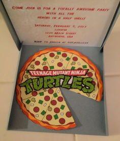 Tiny Kiwi Cards: Ninja Turtle card-in-a-box