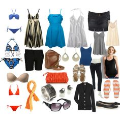 """""""Mediterranean Cruise Packing List"""" by lisawon on Polyvore"""