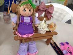 Flower pot doll