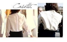 Our new masterpiece: #Casetti shirt Simplicity at its best on our shop: www.theitem.co Girls Accessories, Her Style, Feminine, Ruffle Blouse, Collections, Elegant, Stylish, Shirts, Outfits