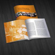 """Diseño e impresión del libro """"Políticas Públicas"""".Diseño de páginas internas a dos colores y porta a full color."""