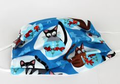 Mundschutz koi katze Koi, Baby Car Seats, Etsy, Children, Face, Cotton, Masks, Kids, Young Children