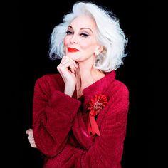 Кармен  Делль' Орефиче:  «Я планирую жить до 100 лет» — Стиль на Wonderzine