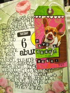 No More Excuses September Tag #1 by Michelle Rydell, via Flickr