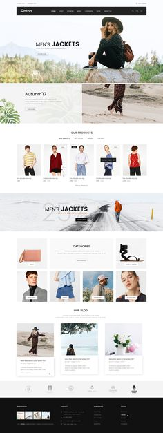 Anton - Ecommerce PSD Template #store #top #website • Download ➝ https://themeforest.net/item/anton-ecommerce-psd-template/20588579?ref=pxcr