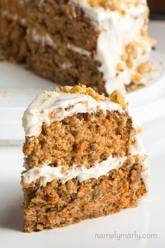 Make this vegan carrot cake recipe and you'll see why it's our favorite. It's moist, delicious, and topped with vegan cream cheese frosting.