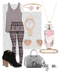 """"""""""" by dorothy-moore ❤ liked on Polyvore featuring beauty, Rebecca Minkoff, Givenchy, Kendra Scott, Michael Kors, Hoorsenbuhs and Elie Saab"""