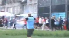Euro 2012 Violence - Russian, Polish Hooligans Clash In Warsaw