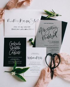 10 Wedding Invitation Suites That Will Make You Swoon #weddinginvitation