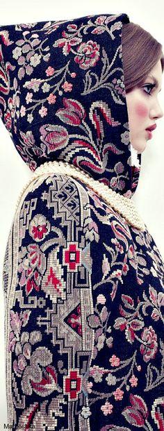 The Anastasia of winter .............Vogue Japan december 2013