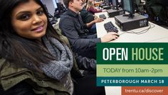 One of the best ways to find out if Trent is the right fit for you is to see campus with your own eyes. Join us today for our March Open House to discover Trent's beautiful Peterborough campus, and the student opportunities waiting for you at Ontario's #1 undergraduate university.