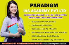 Paradigm Academy: IAS Entrance Exam Coaching Centres in Pune Mumbai