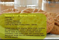 #healthy Peanut Butter Banana #cookies