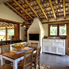 São Lourenço da Serra/SP: Casas translation missing: br.style.casas.rústico por Bianka Mugnatto Design de Interiores