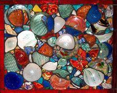 broken glass artwork