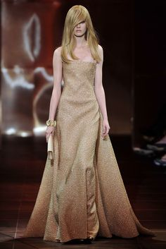 Armani Privé Fall 2010 Couture Fashion Show - Jac