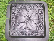 Plaster or concrete mold plastic mould Lily stepping stone mold cement mold