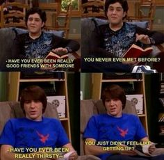 We all want to be like josh... But we're really Drake